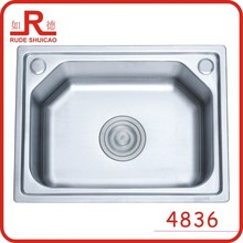 4836 singl bowl vanity vessel sink kitchen accessories stainless steel