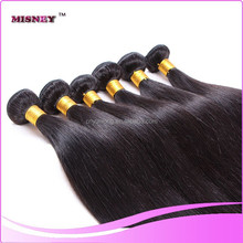 New arrived! unprocessed virgin brazilian virgin hair extension natura color 12-30inch sliky straight cheap human hair