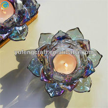 wedding decoration table centerpieces,decorative flower,crystal bead tea light holders