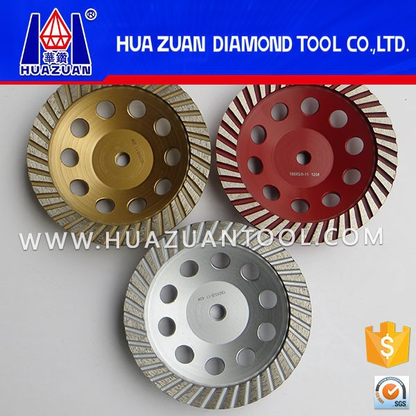 "High Quality 4-7"" Abrasive Stone Cup Grinding Wheel for Stone and Concrete Edge"