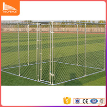 large outdoor iron metal heavy duty welded wire dog kennel run