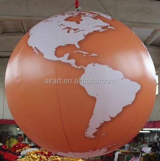 Inflatable planet sphere