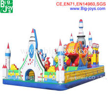 2013 amusement park inflatable,new design inflatable funcity,popular infatable fun city