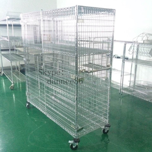 Chrome Mobile Stainless Steel Security Cage