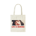 Eco-friendly thick cheap fashion style promotional organic tote bag