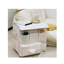 100% polyester sofaside storage caddy/organizers