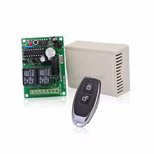 High sensitivity DC12V 2 channel rf wireless remote control switch 315mhz/433mhz learning code