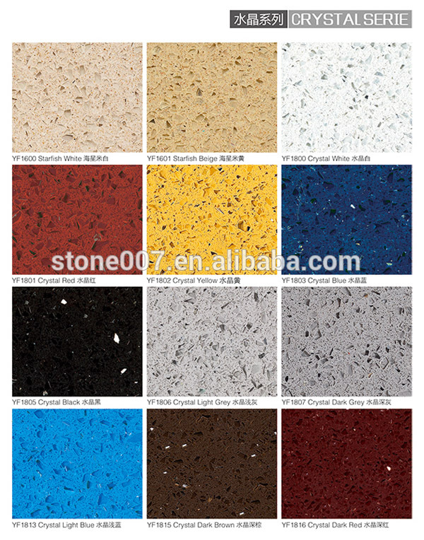 Modern design composite quartz countertop made in China
