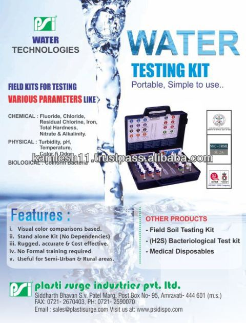 Multiparameter Field Water Test Kit