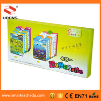 Low price Columbia lalanguage transport learning electronic product for children sound wall picture
