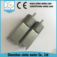 6v dc electric gear motor specifications with reduction gear