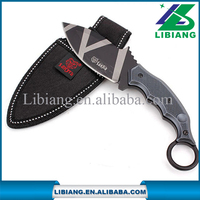 New Tactical Karambit Military Combat Knife Survival Claw Bowie Machete