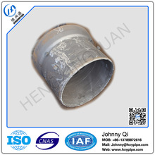 Custom Made DI Pipe Fittings Zinc Coating plus Bitumen Painting Socket Spigot 11.25 Degree Bend for Water Treatment