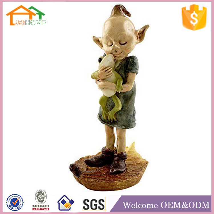 Factory Custom made best home decoration gift polyresin resin miniature fairies