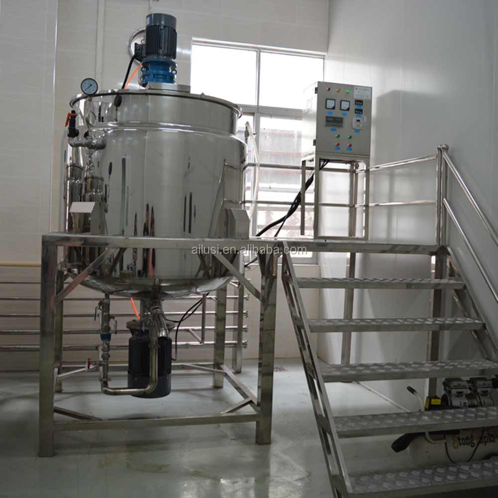 Automatic shampoo blending tank/ liquid soap / oil and detergent production line
