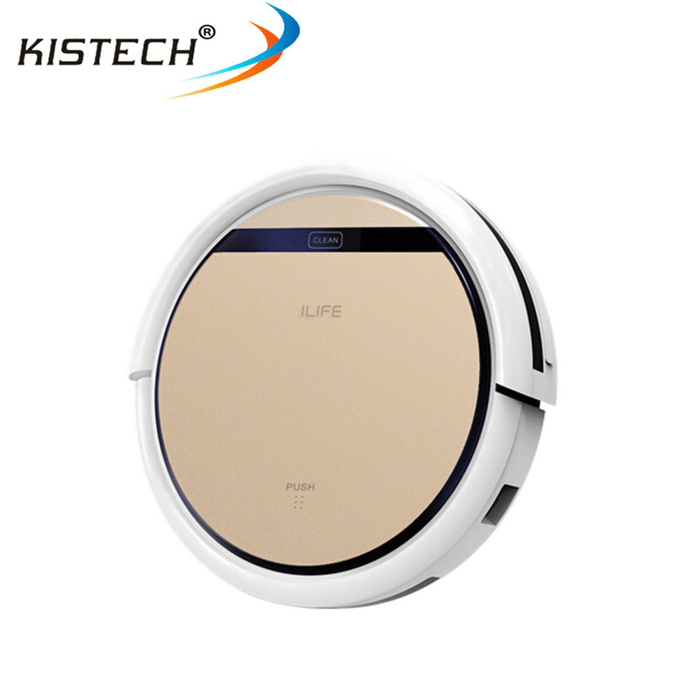 Original factory Ilife V5S Robot Vacuum Cleaner for Home Wet Dry Clean Water Tank Double Filter Ciff Sensor Self Charge