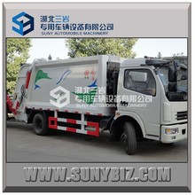 Sinotruck howo JAC Foton China garbage truck for sale,foton 4-6cubic meters mini garbage compactor truck for sale