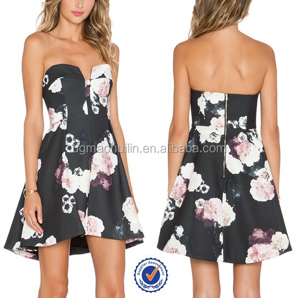 Pictures of mini dress women cocktail dresses floral ladies dresses online shopping
