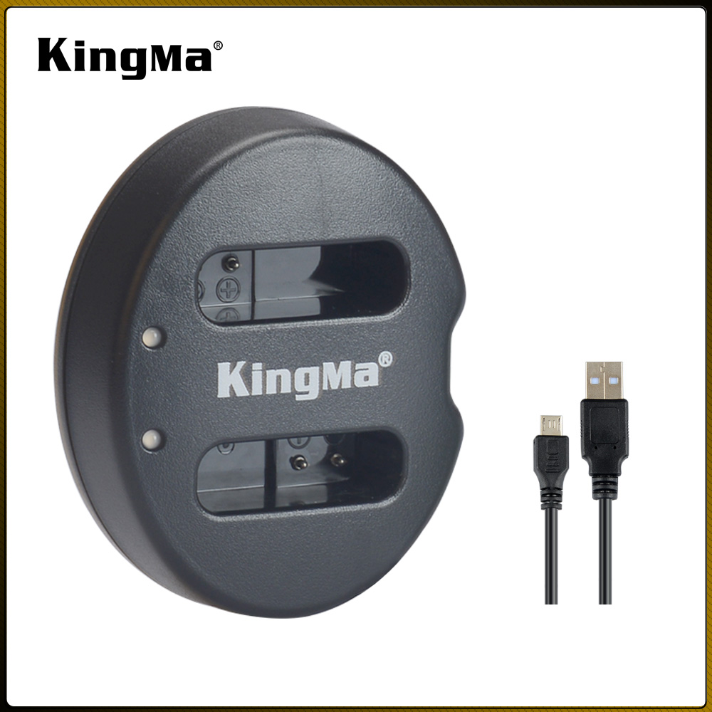 KingMa Dual USB Charger for Canon NB-12L,CB-2LG and Canon LEGRIA mini X, <strong>N100</strong>, G1 X Mark II