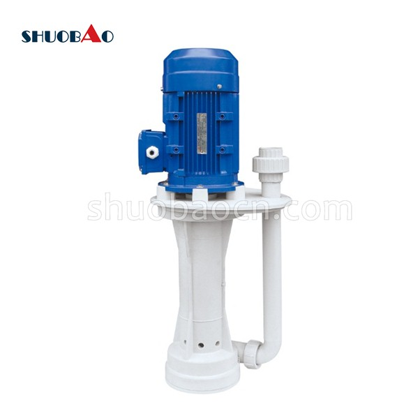 RT168-0.75-400 Acid Chemical Pump Vertical Centrifugal Pump 1HP