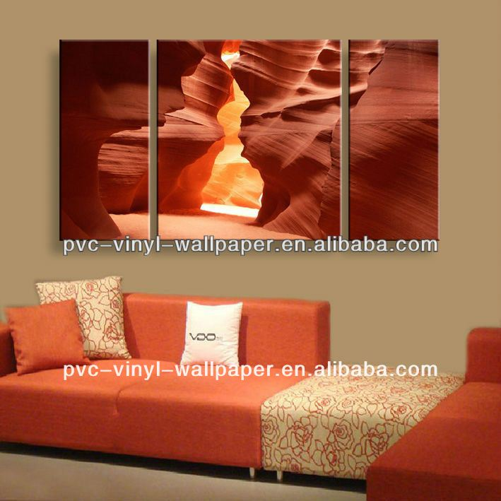 lovely abstract giclee canvas for bedroom decoration