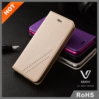 Custom high quality woven leather mobile phone case for iphone 6
