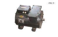 DC electric motor for battery locomotive