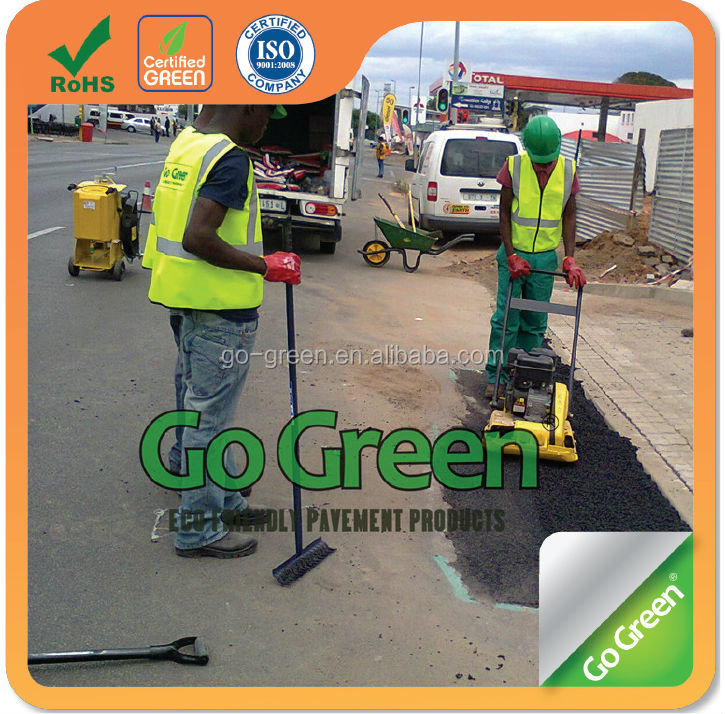 Go Green asphalt cold mix / instant road repair cold asphalt material
