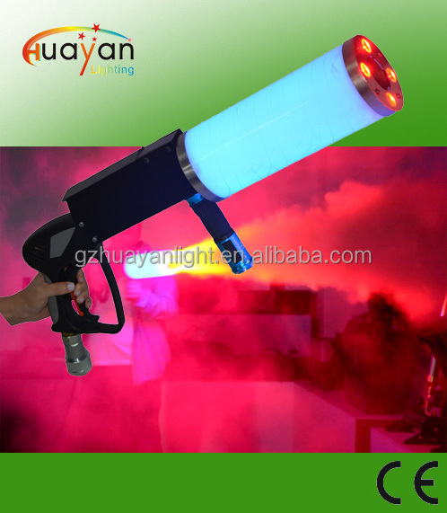 LED CO2 Gun by handle with 7 colors