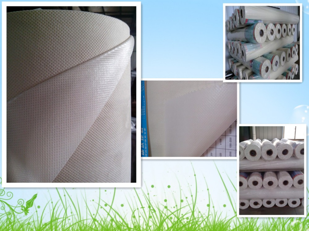 PE film laminated with PP nonwoven fabrics/PP+PE nonwoven fabric