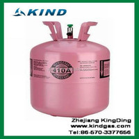 Industrial grade 11.3kg/25lbs disposable cylinder packing Cheap price R410a refrigerant gas from Chinese refrigerant factory