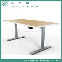 Force height adjustable mechanisms & dual motor electric sit stand desk & motor driven height adjustment desk frame