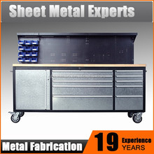 Professional Tool Master Chest & Cabinet with Stainless Steel Handles