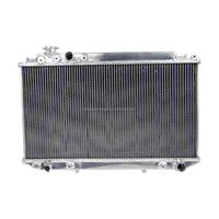 Radiator coolant sale price aluminium aoto cool radiator for TOYOTA CRESSIDA MX83 JZX81 CHASER 1JZ-GTE 88-93
