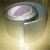 Qiangke cold applied aluminium adhesive rubber waterproof wall tapes