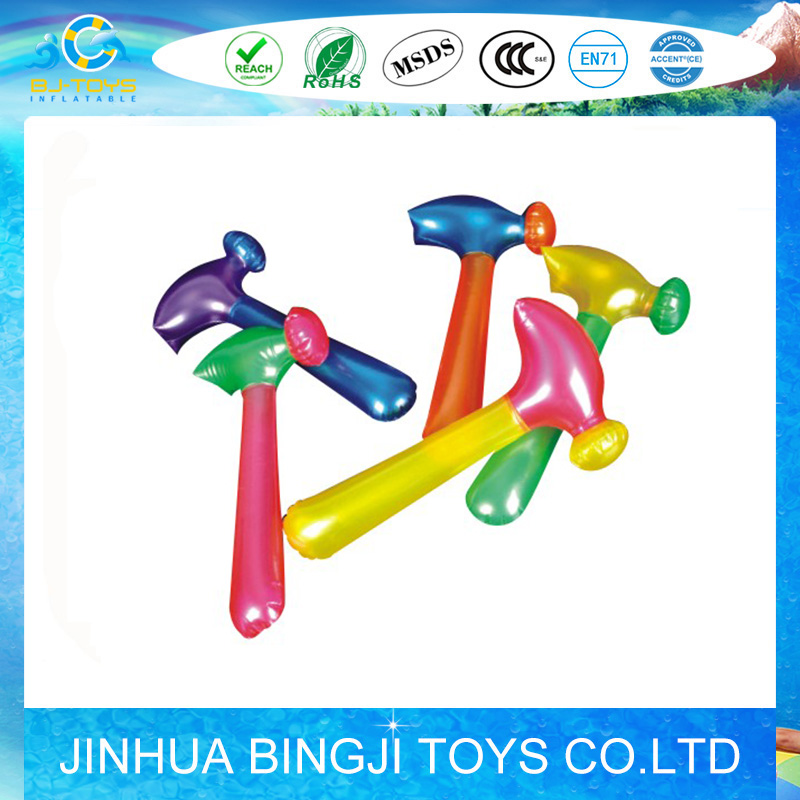 pvc inflatable blow up hammer