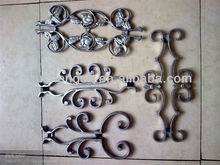 sand cast metal cross craft