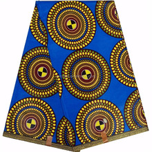 latest high quality women african wax fabric batik style matrial shoes, bag, nice dress clothing by 6 yards cheapest price