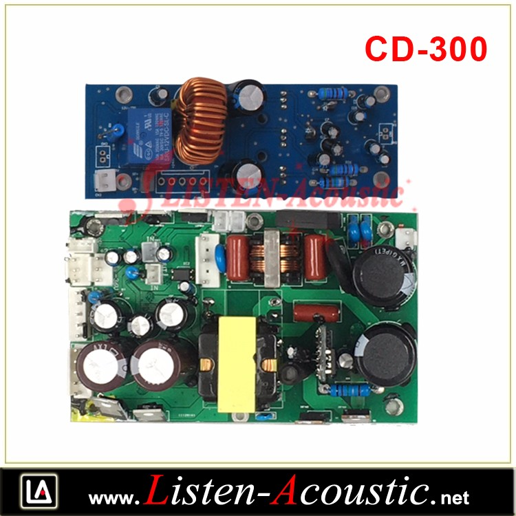 CD-300 Class D High Power Professional Power Amplifier