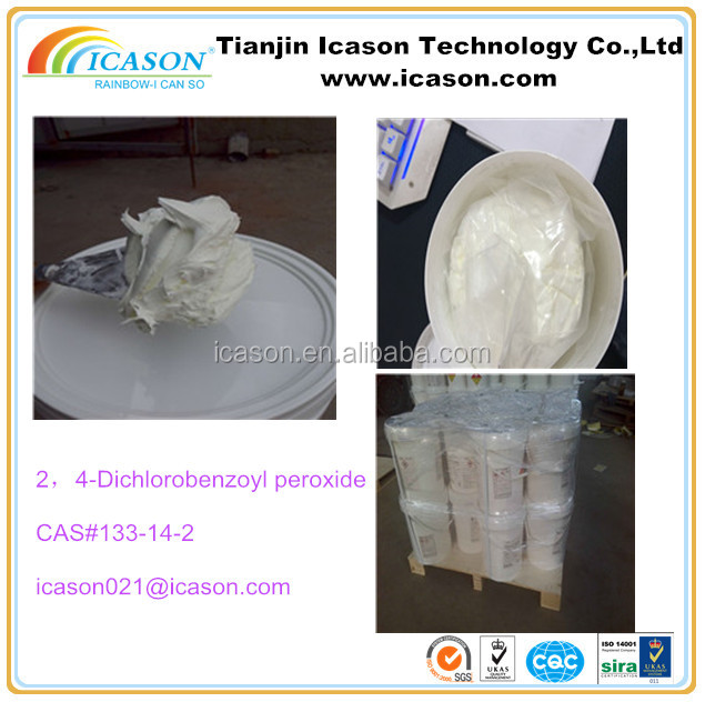 Silicone rubber additive with CAS#133-14-2 dcbp 50% paste