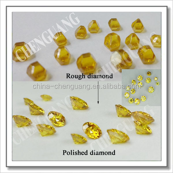 large size synthetic rough diamond 0.5ct