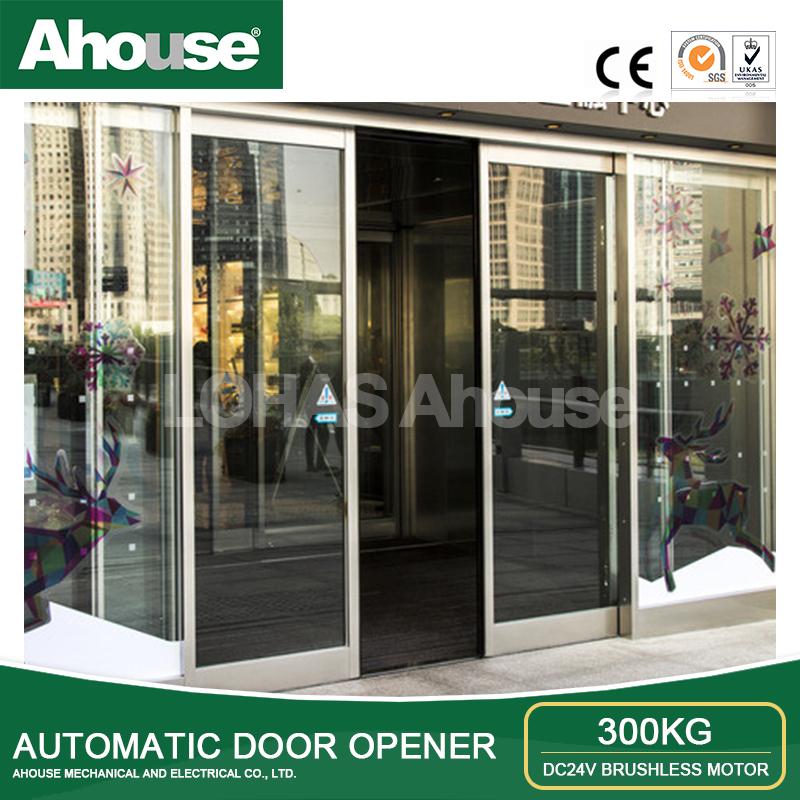 Automatic sliding door house