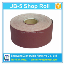 P60 to 600 Grit JB-5 Abrasive Cloth Roll for Hand Use