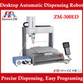 The new type ZM-300ED glue dispensing robot with needle operation with handheld LCD panel teach box