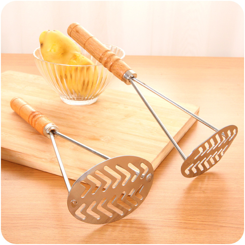 Q114 food grade stainless steel kitchen Functional potato ricer/Potato masher