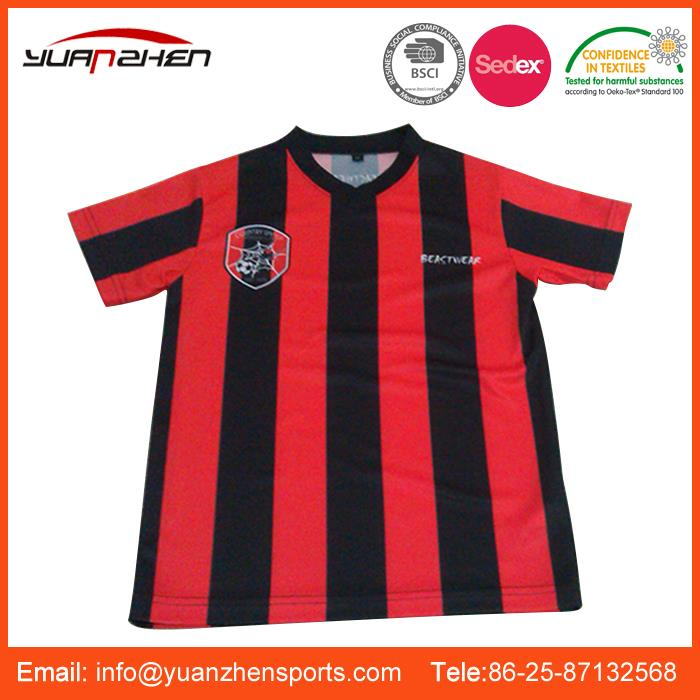 YuanZhen-promotional various styles spain club soccer wear