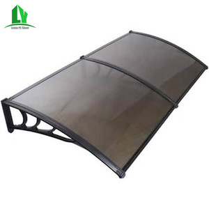 Chinese cheap Polycarbonate patio awnings for sun shed