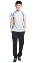 100% cotton Breathable Unisex School uniform