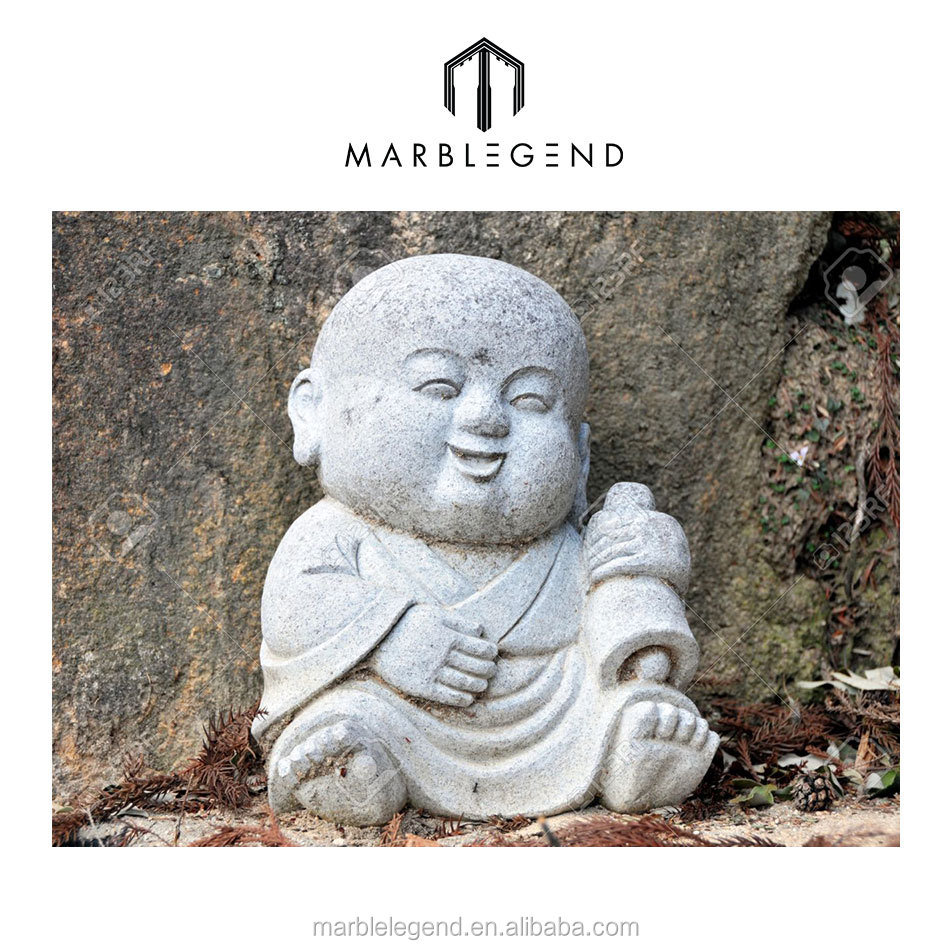 Custom-Made marble baby monk statue