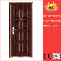 Indian house main gate designs ,hot sell doors in Indian SC-S040